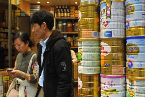 进口乳粉入境前须加贴中文标签