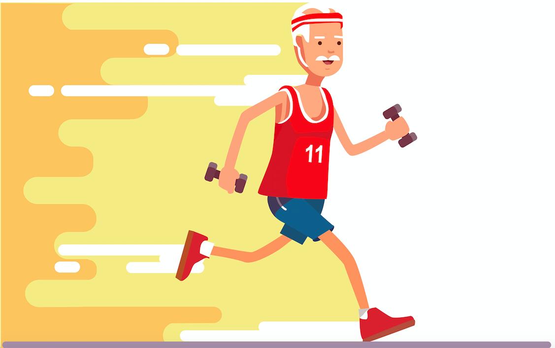 研究显示:肌肉好,骨骼关节才更好